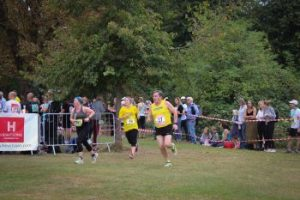 Mr Michael Gaunt running the course