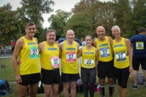 Mr Michael Gaunt and his Chariots of Fire team